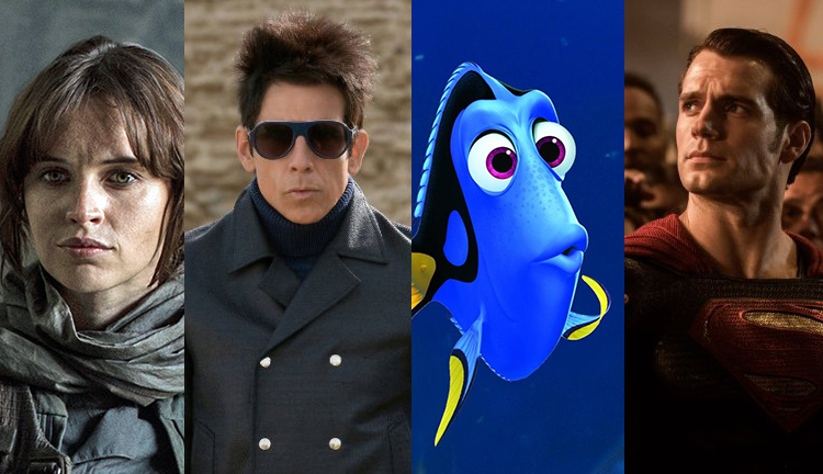 The Top 10 Anticipated Movies of 2016, or Who Wants aSequel?!