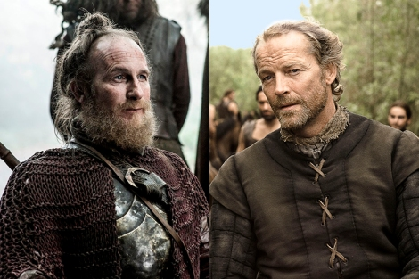 thoros and jorah